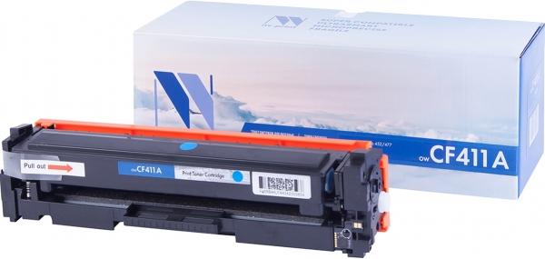 Картридж совместимый NVPrint CF411A для HP голубой