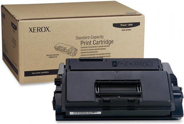 Картридж Xerox 106R01371 черный оригинальный