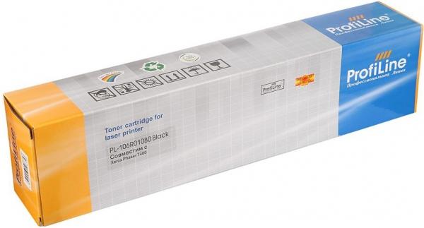 Тонер-туба совместимый ProfiLine 106R01080 черный для Xerox