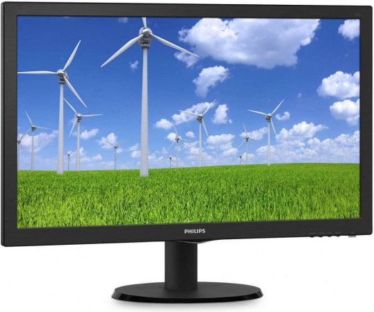 "Монитор 21.5"" Philips 223S5LSB/00 Black"