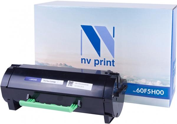 Картридж совместимый NVP 60F5H00 для Lexmark