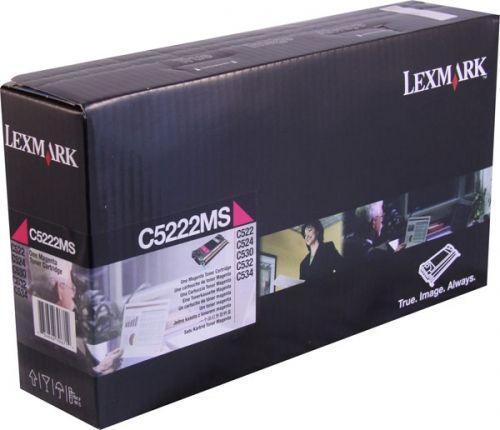 Картридж Lexmark C5222MS пурпурный оригинал