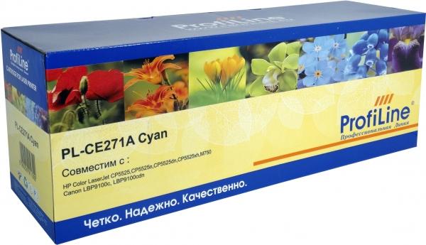 Картридж совместимый ProfiLine CE271A Cyan для HP