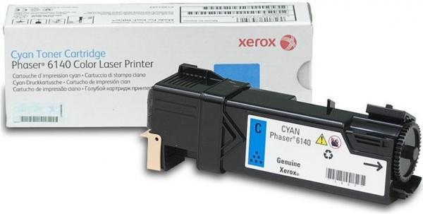 Картридж XEROX 106R01481 голубой оригинальный