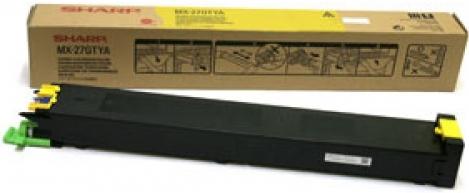 Картридж совместимый Katun MX-27GTYA желтый для Sharp
