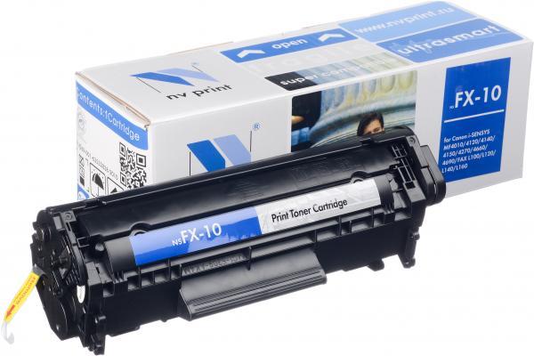 Тонер-картридж совместимый NV Print FX-10 для CANON