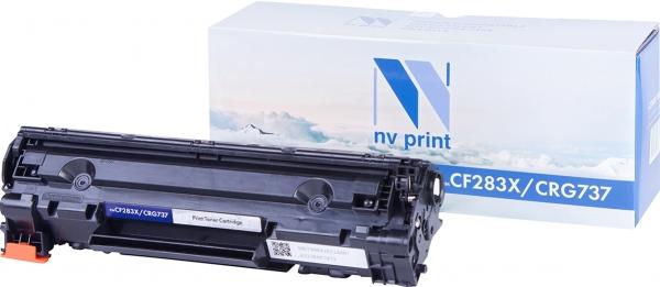 Картридж совместимый NVPrint CF283X/Canon737 для HP и Canon