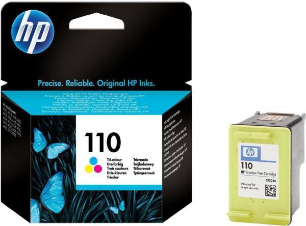 Картридж HP 110 трехцветный оригинальный