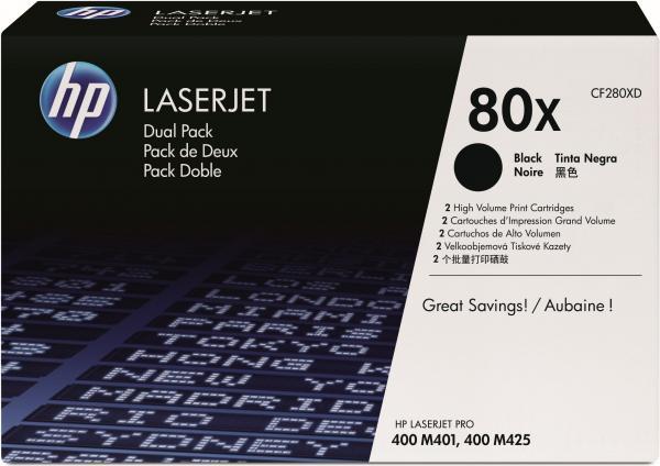 Картридж HP CF280XD оригинальный, двойная упаковка