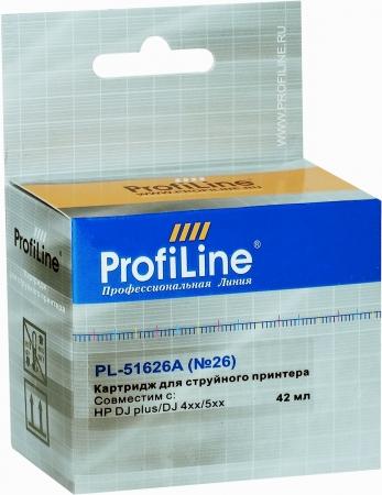 Картридж совместимый ProfiLine 51626A №26 для HP