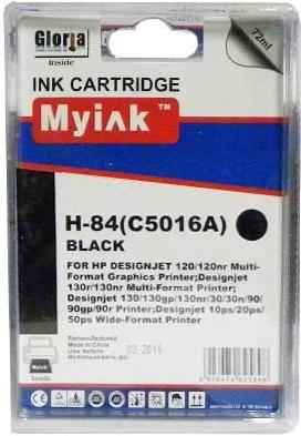 Картридж совместимый MyInk C5016A черный для HP