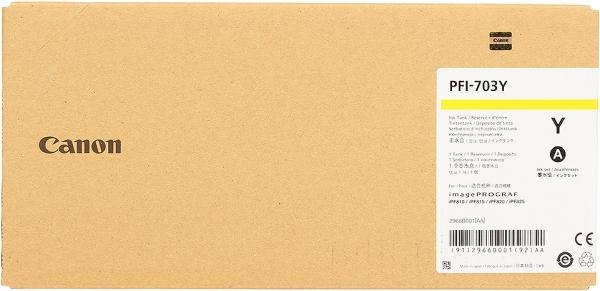 Картридж CANON PFI-703Y желтый оригинальный