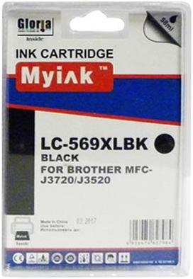 Картридж совместимый MyInk LC569XLBK черный для Brother