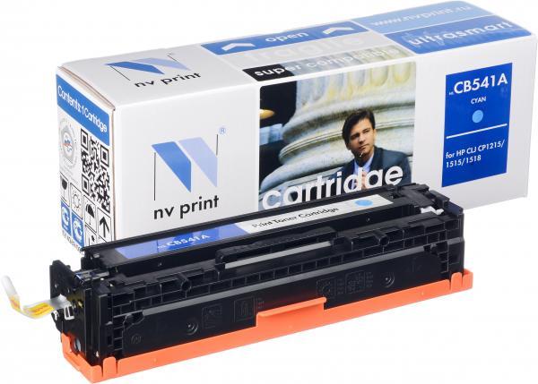 Картридж совместимый NV Print CB541A голубой для HP