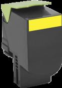 Картридж Lexmark 80C8SY0 желтый оригинал