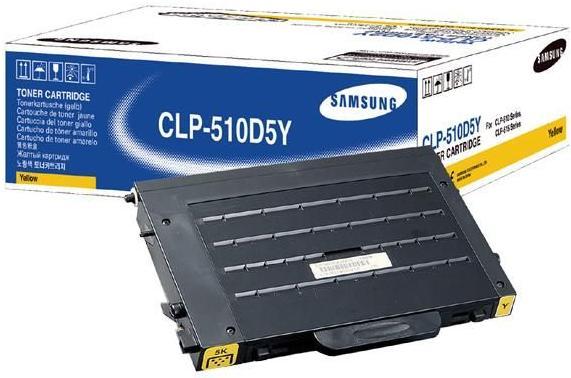 Картридж Samsung CLP-510D5Y желтый совместимый NV Print