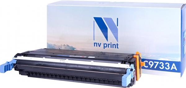Картридж совместимый NVPrint C9733A для HP пурпурный