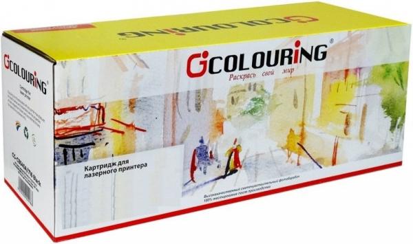 Картридж совместимый Colouring CB542A/716 для HP и Canon желтый
