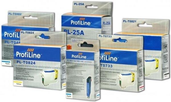 Картридж совместимый ProfiLine 08401 для Epson 5Color