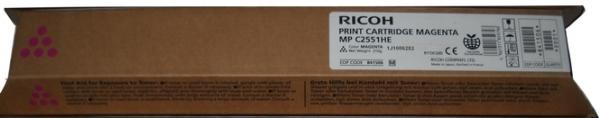 Тонер-картридж MPC2551HE для Ricoh пурпурный
