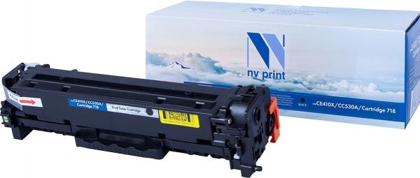 Картридж совместимый NVPrint CE410X/CC530A/Canon 718 для HP и Canon черный