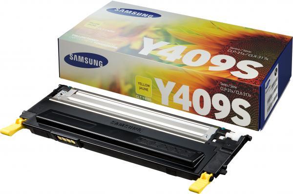 Картридж Samsung Y409S/SEE желтый оригинальный