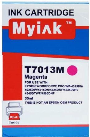 Картридж совместимый MyInk T7013 красный для Epson