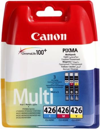 Картридж CANON CLI-426C/M/Y трехцветный оригинальный