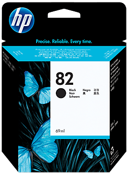 Картридж HP CH565A чёрный оригинальный