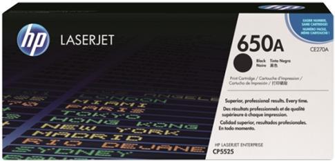 Картридж HP CE270A черный оригинальный