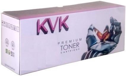 Картридж совместимый KVK CF381A голубой для HP