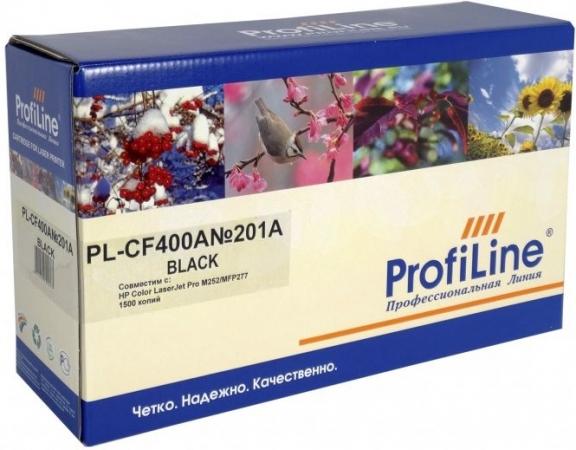 Картридж совместимый ProfiLine CF400A черный для HP