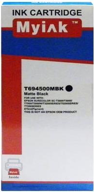 Картридж совместимый MyInk T6945 черный матовый для Epson