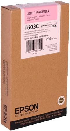 Картридж EPSON C13T603C00 светло-пурпурный оригинальный