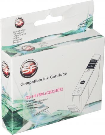 Картридж совместимый SuperFine CB324HE пурпурный для HP