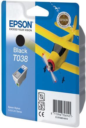 Картридж EPSON T03814A черный оригинальный