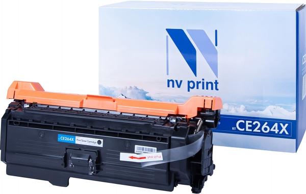 Картридж совместимый NVP CE264X черный для HP