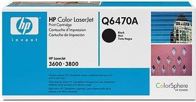 Картридж HP Q6470A черный оригинальный
