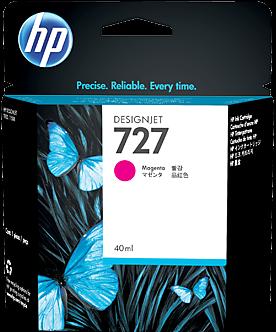 Картридж HP B3P14A пурпурный оригинальный