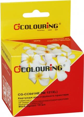 Картридж совместимый Colouring CC641HE №121XL для HP черный