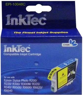Картридж совместимый InkTec T0482 синий для Epson