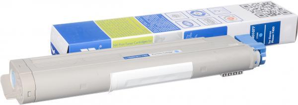 Тонер-картридж совместимый NV Print 106R01077 голубой для Xerox