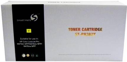 Картридж совместимый Smart Mate CF382A (312A) желтый для HP
