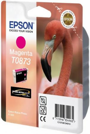 Картридж EPSON C13T08734010 пурпурный оригинальный
