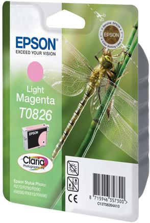 Картридж EPSON T08264A светло-пурпурный оригинальный