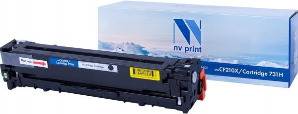 Картридж совместимый NVPrint CF210A/Canon 731 для HP и Canon черный