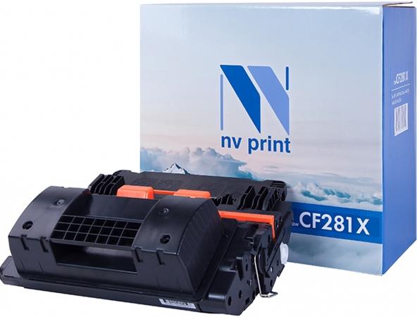 Картридж совместимый NVPrint CF281X для HP