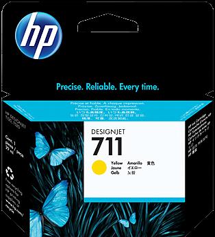 Картридж HP CZ132A желтый оригинальный