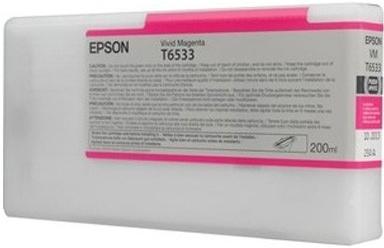 Картридж EPSON T6533 (C13T653300) пурпурный оригинальный