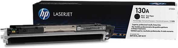 Катридж HP 130А черный оригинальный